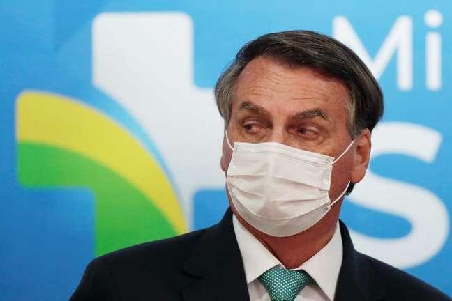 Presidente Jair Bolsonaro durante cerimônia em Brasília 01/06/2021 REUTERS/Ueslei Marcelino