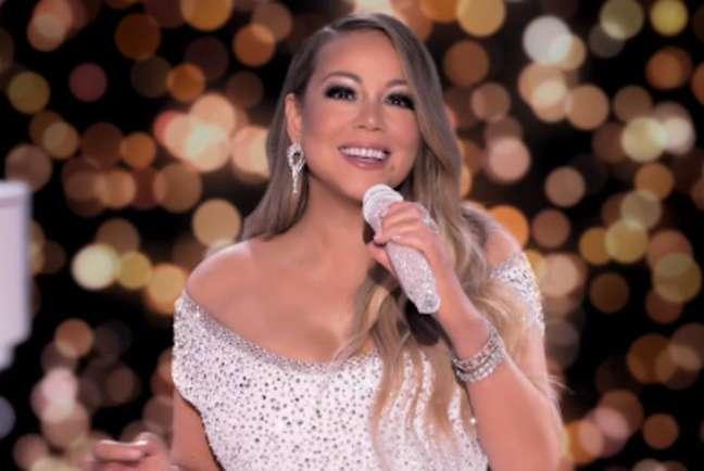 A cantora Mariah Carey.