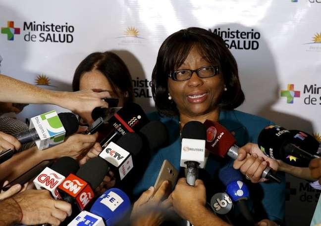 Carissa Etienne, diretora da Opas  03/02/2016 REUTERS/Andres Stapff