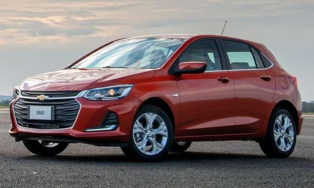 Chevrolet Onix: foco total nas versões topo de linha, que caíram até 84% em cinco meses.