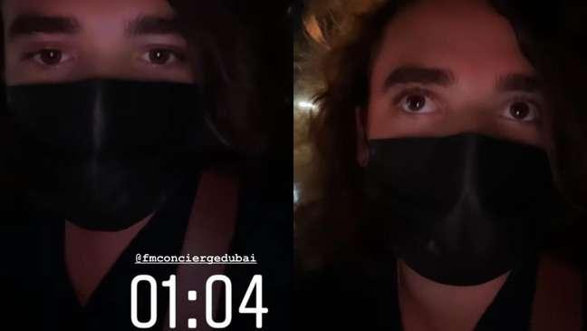 No Instagram, João explicou o ocorrido.