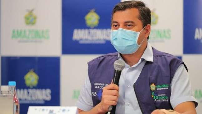 Governador do Amazonas, Wilson Lima, obteve no STF o direito de não comparecerá à CPI da Covid