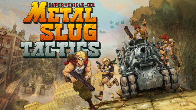 Metal Slug Tactics chegará a PC