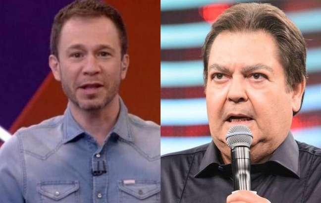 Tiago Leifert vai substituir Fausto Silva no 'Domingão do Faustão'
