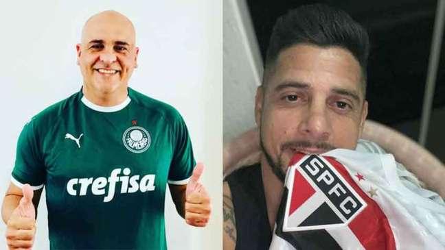 Marcos liberou a zoeira contra o Palmeiras diante da eliminação para o CRB (Montagem LANCE!)