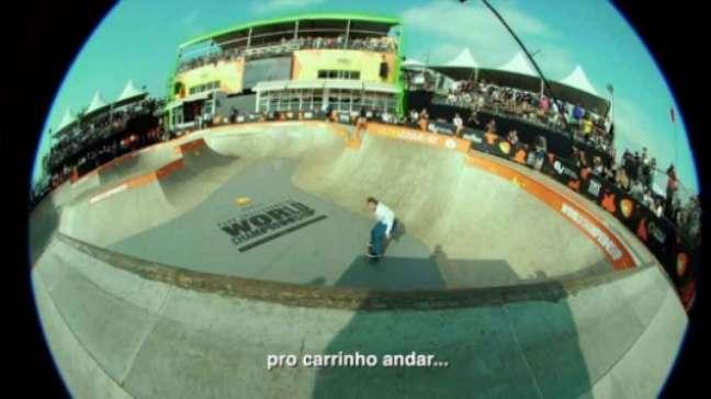 Pedro Barros quer promover valores do skate (Imagem: Divulgação/Oi)