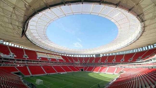 Estádio Mané Garrincha, palco de Brasil x Venezuela na Copa América.