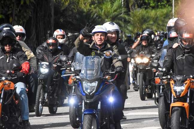 Mais de  6,3 mil policiais foram escalados para a manifestação realizada pelo presidente Jair Bolsonaro em São Paulo