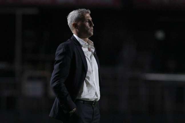 Crespo terá desfalques importantes no São Paulo contra o Galo (Foto: Rubens Chiri / saopaulofc.net)