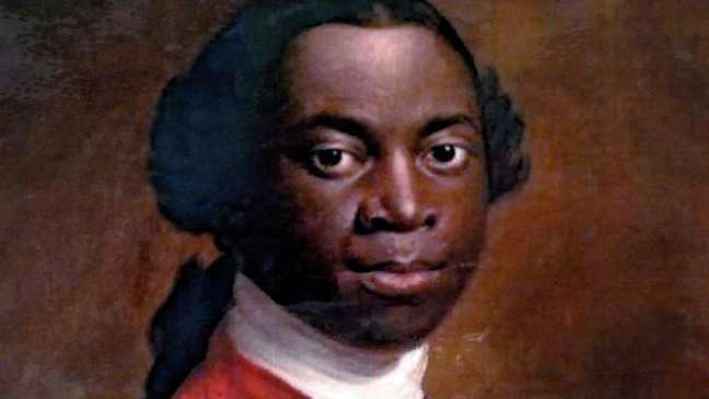 Equiano foi sequestrado quando era criança, na Nigéria, e vendido como escravo — mais tarde, acabou conseguindo comprar sua liberdade e viajou para Londres, onde se juntou ao movimento abolicionista