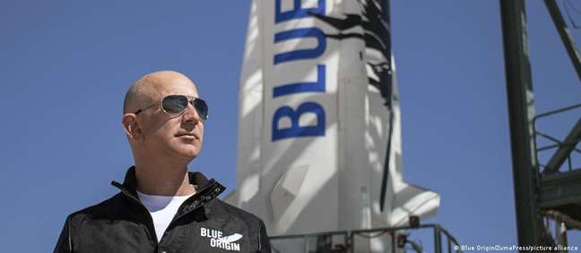 Voo de Jeff Bezos no New Shepard está marcado para 20 de julho de 2021