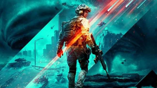 Battlefield 2042 chega em outubro nos consoles e PC, con guerra futurista