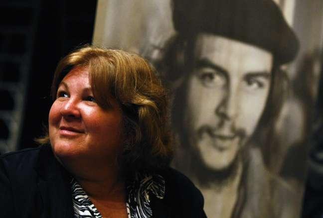Aleida Guevara, filha de Che Guevara, recebeu a cidadania honorária de Palermo (Itália) nesta segunda-feira (14)