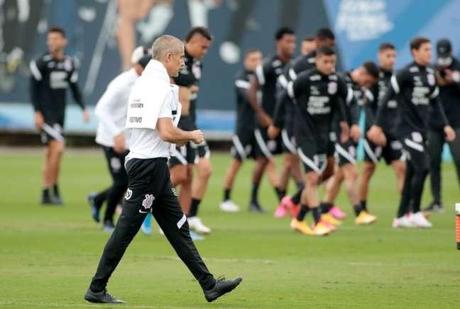 Corinthians treina na manhã desta segunda-feira (14) e tarde de terça-feira (15) (Foto: Rodrigo Coca/Ag.Corinthians)