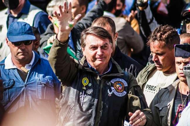 Bolsonaro voltou a atacar os adversários políticos