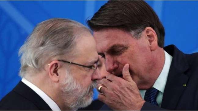 Relatório cita nomeações de Bolsonaro para PF e Ministério Público; em 2019, Augusto Aras virou procurador-geral