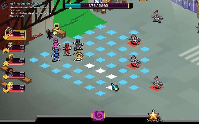 """Chroma Squad é uma ideia tão boa que todo mundo se pergunta """"como é que não pensamos nisso antes""""?"""