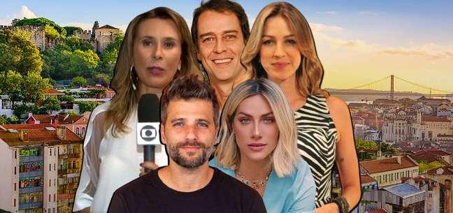 Tatiana Nascimento, Marcello Antony, Luana Piovani, Giovanna Ewbank e Bruno Gagliasso: em busca de qualidade de vida em Portugal