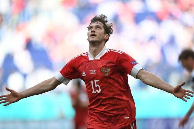 Miranchuk marcou o gol da vitória da Rússia