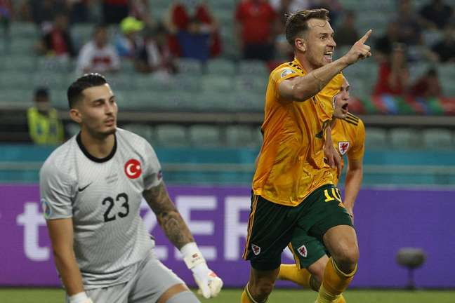 País de Gales foi semifinalista na última Eurocopa (Foto: VALENTYN OGIRENKO / POOL / AFP)