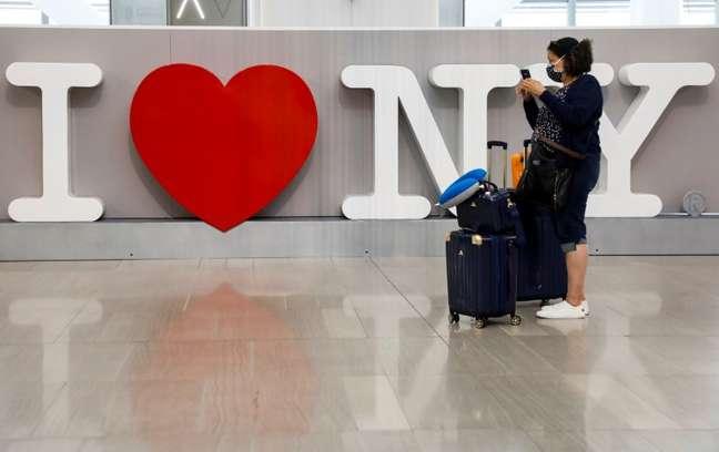 Aeroporto LaGuardia, em NOva York  29/6/2020. REUTERS/Brendan McDermid