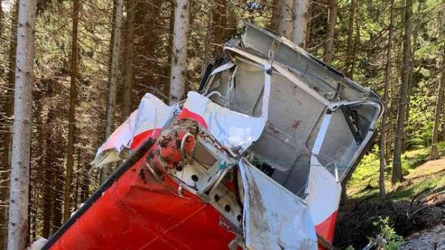 Acidente no Stresa-Mottarone matou 14 pessoas em 23 de maio