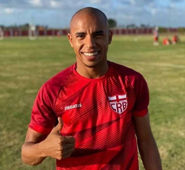 Reginaldo Lopes espera grande segundo semestre do CRB e vitória sobre o Vasco (Foto: Divulgação / CRB)