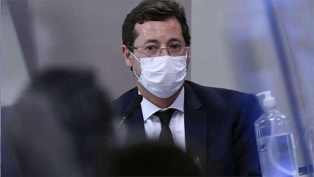 Fabio Wajngarten, ex-secretário de Comunicação do governo Bolsonaro, tornou-se investigado pela CPI