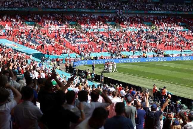 Final da Eurocopa está marcada para o estádio de Wembley, em Londres