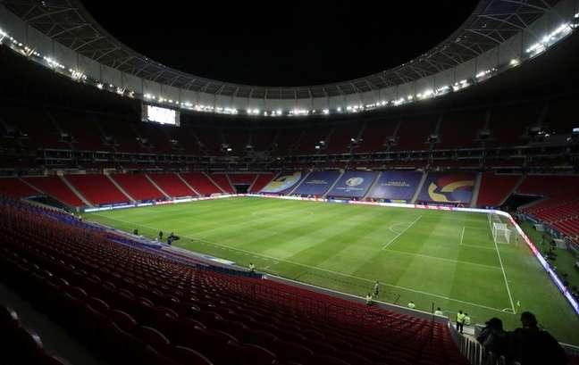 Estádio Mané Garrincha em Brasília  18/6/2021  REUTERS/Henry Romero