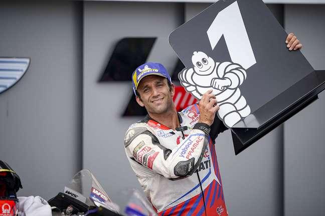 Johann Zarco colocou a Ducati na pole em Sachsenring pela primeira vez desde 2008