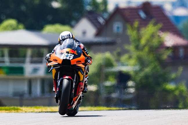 Miguel Oliveira mostrou um ritmo forte na Alemanha