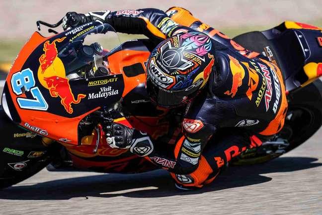 Remy Gardner está cada vez mais líder na Moto2