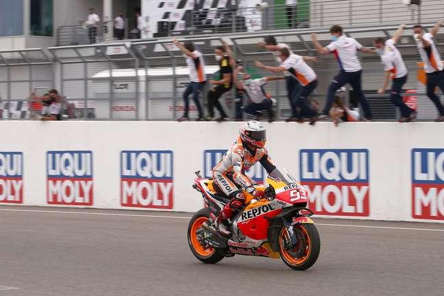 Vitória de Marc Márquez também encerrou longo jejum da Honda