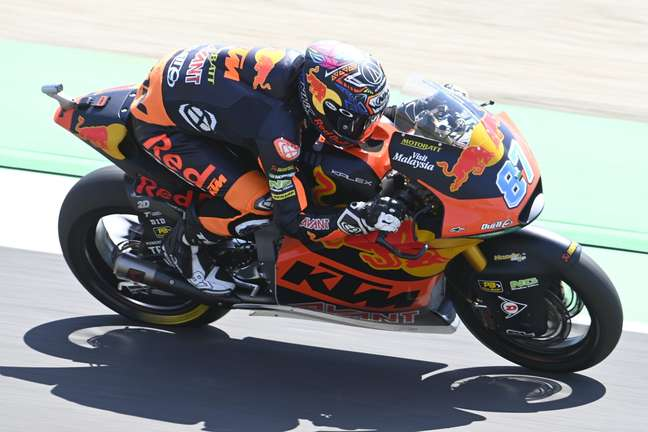 Remy Gardner, líder da Moto2 com a Red Bull KTM Ajo