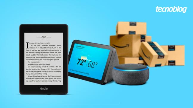 Kindle, Echo e outros produtos da Amazon estão em promoção