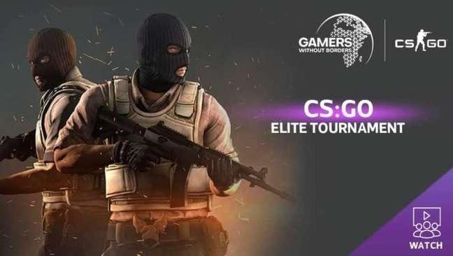 Gamers Without Borders faz torneio beneficente de CS:GO