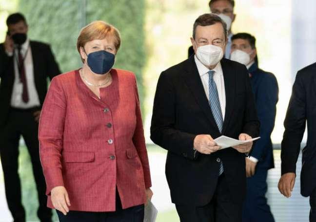 Líderes se reuniram em Berlim nesta segunda-feira