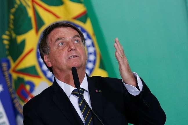 Presidente Jair Bolsonaro. 10/6/2021. REUTERS/Adriano Machado