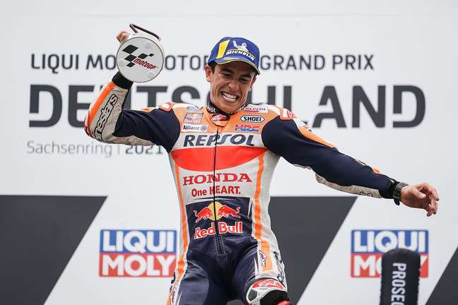 Marc Márquez venceu o GP da Alemanha