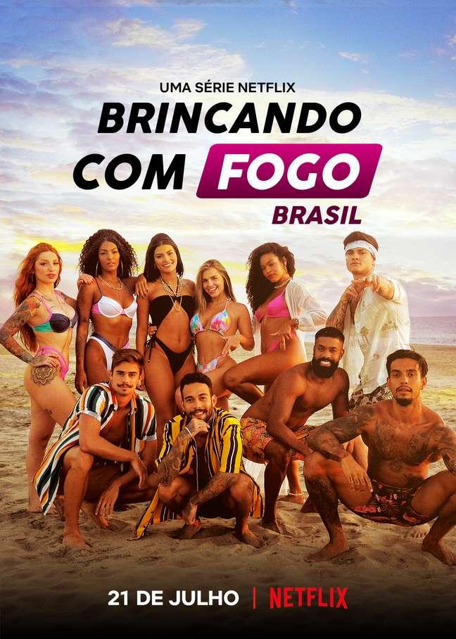 Brincando com o Fogo Brasil estreia em julho na Netflix