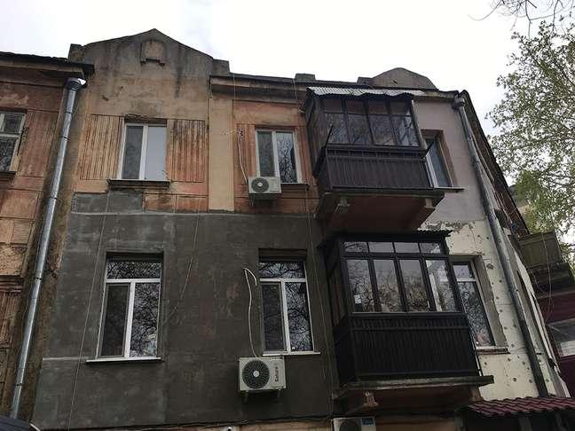 O apartamento que James comprou em Odessa