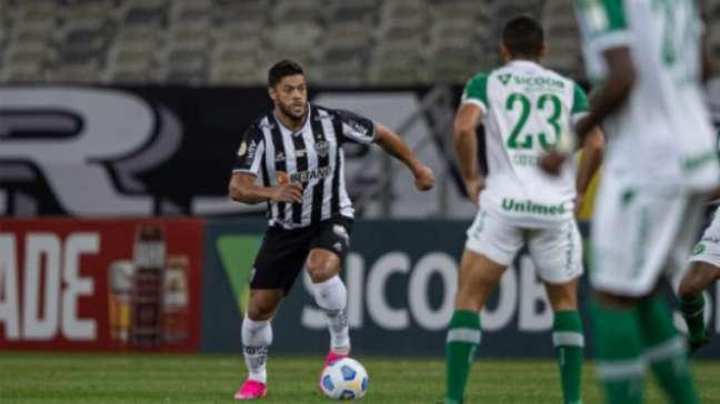 Hulk não brilhou no empate em casa do Galo contra a Chapecoense (Pedro Souza / Atlético)
