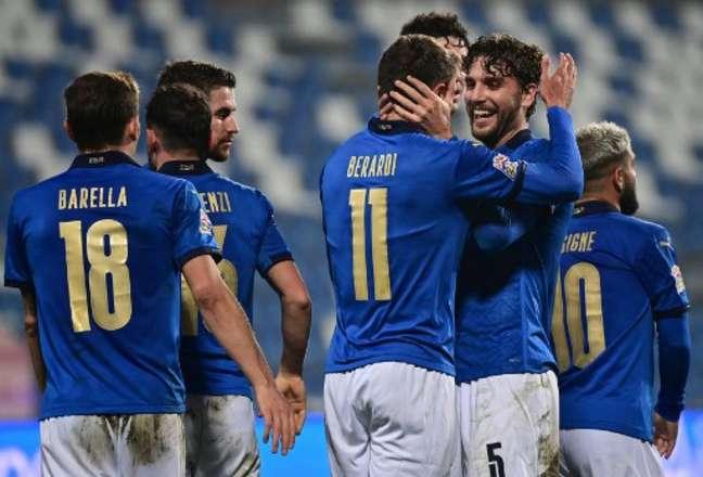 Locatelli está fazendo uma grande Eurocopa com a Itália (MIGUEL MEDINA / AFP)