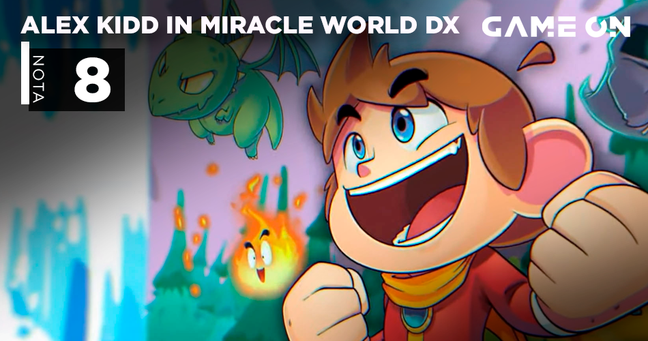 Alex Kidd in the Miracle World DX - Nota 8