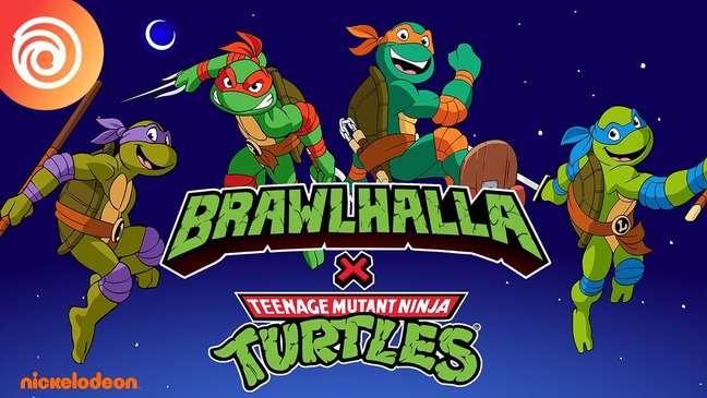 TMNT em Brawhalla
