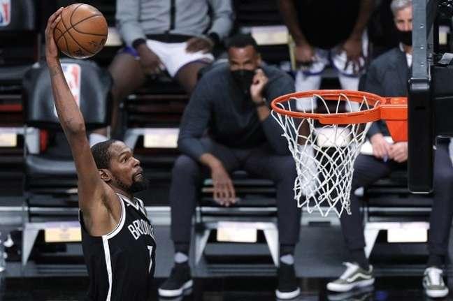 Kevin Durant, ala do Nets