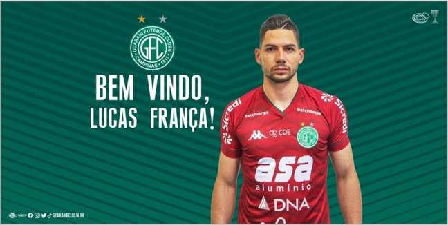Jogador chega para o Bugre vindo do Cruzeiro (Divulgação/Cruzeiro)