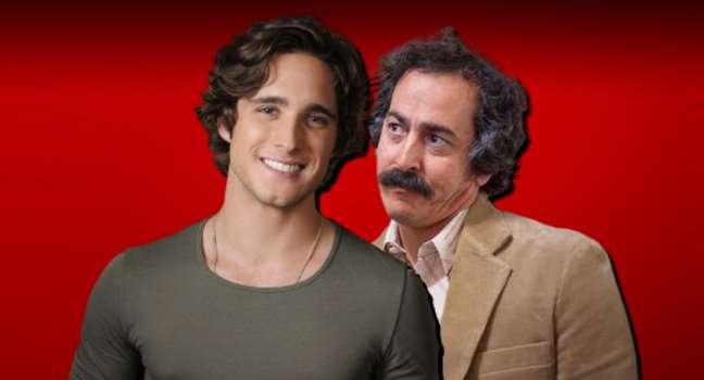 Diego Boneta e Martín Bello: a TV da Argentina também noticiou o incidente nos bastidores da série 'Luis Miguel'