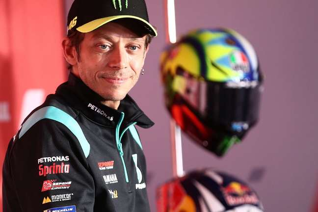 Valentino Rossi recebeu homenagem ainda na quinta-feira